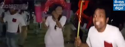 Dinakshi Priyasad & Theekshana Anuradha Kavadi Dance in Katharagama