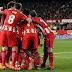 هداف مباراة اتلتيكو مدريد واشبيليه 5 2 هاتريك جريزمان ديربي مجنون - الدوري الاسباني
