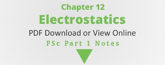 Physics Electrostatics Pdf