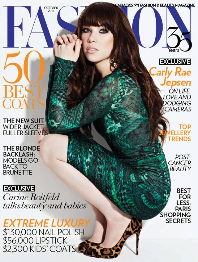 Carly Rae Jepsen Fashion Magazine