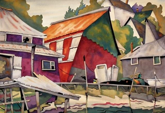Канадский художник. Barry Coombs 9