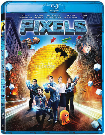 Pixels (2015) Dual Audio Hindi 480p BluRay 300MB