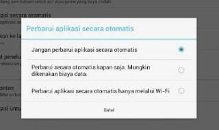 Cara Mengatasi Android Yang Otomatis Update Sendiri