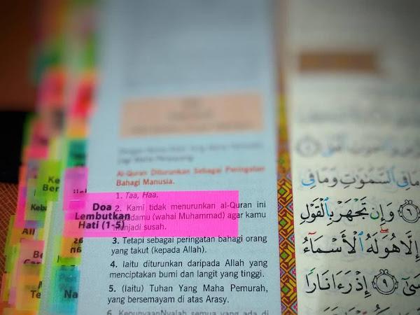 Set Tagging AL Quran (Tag Al quran Anda Sendiri)