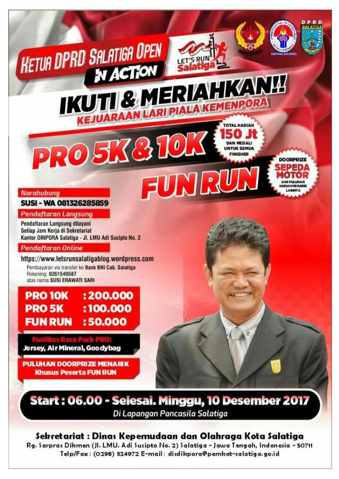 Let's Run Salatiga • 2017