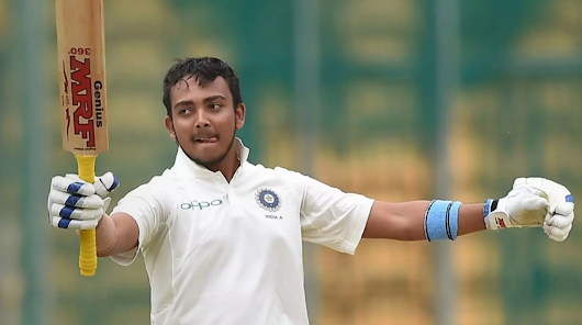 Next Big Thing In Indian Cricket - Prithvi Shaw
