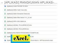 Download Gratis 37 Aplikasi Excel Untuk SD SMP SMA SMK MA MTS dan MI