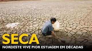 Estudo indica chuvas abaixo da média e PB corre risco de esgotamento de água a partir de novembro