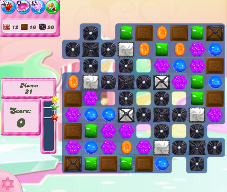 Candy Crush Saga level 2801