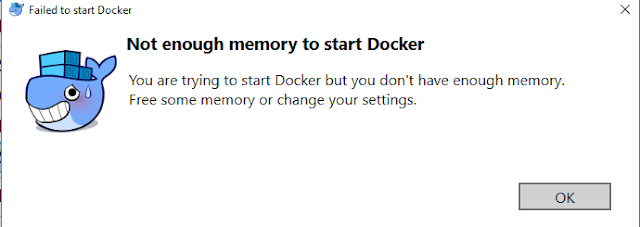 Not Enough Memory error