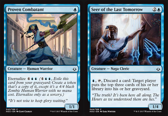 Magic the Gathering Adventures: Hour of Devastation Review: Blue