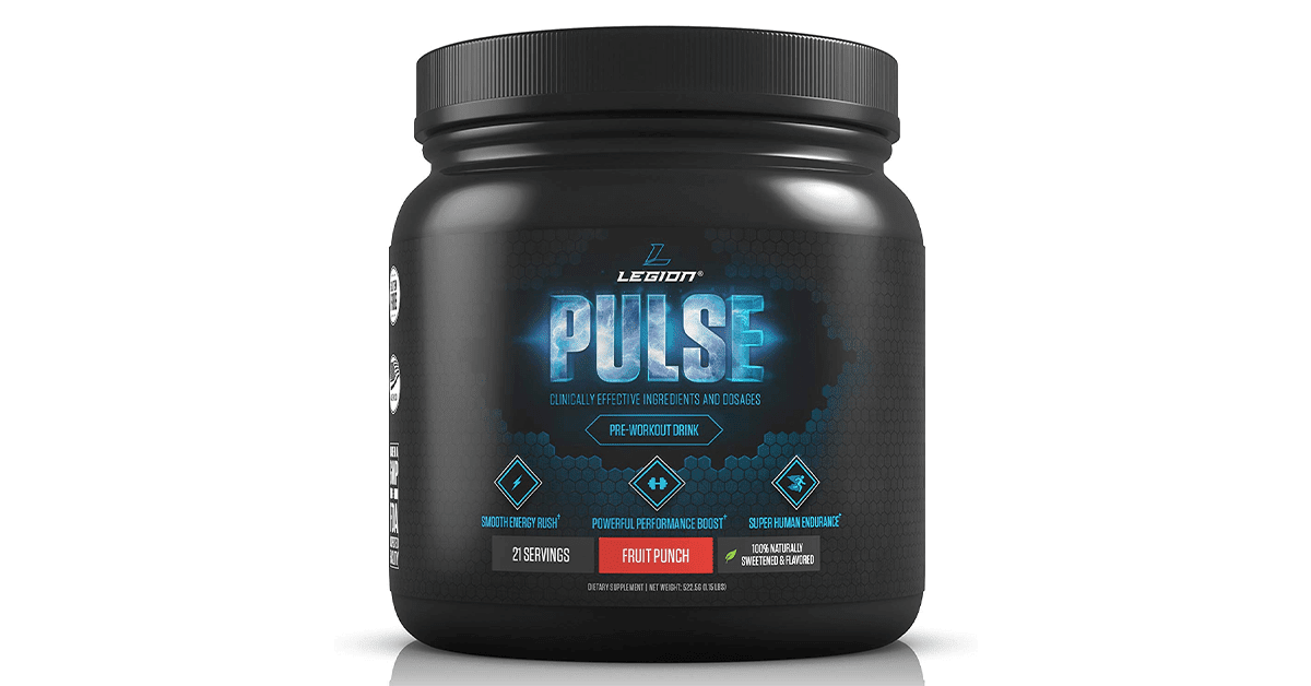 Fitcanal Legion Pulse Pre Workout Supplement