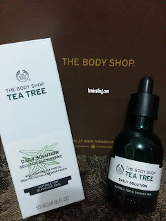 the body shop tea tree solution