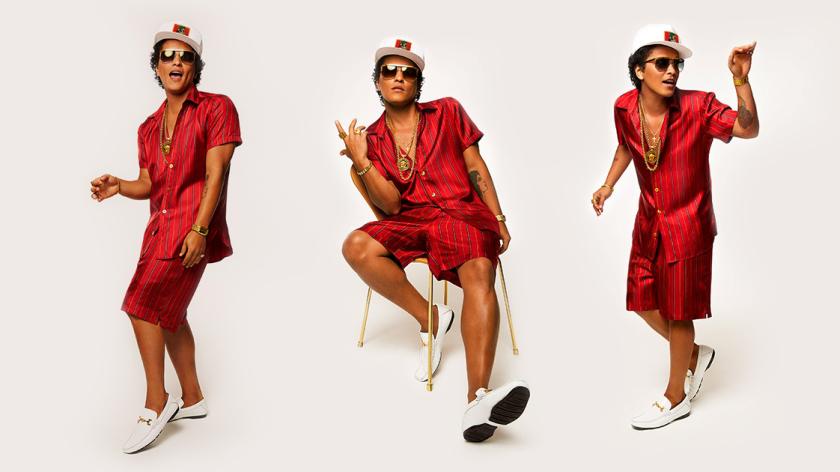 "Bruno Mars anuncia el tracklist de ""24K Magic"""