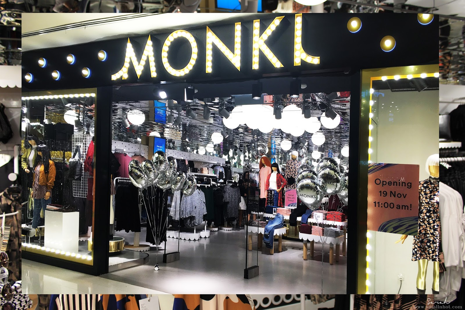 Monki Store Launch Sunway Pyramid Small N Hot