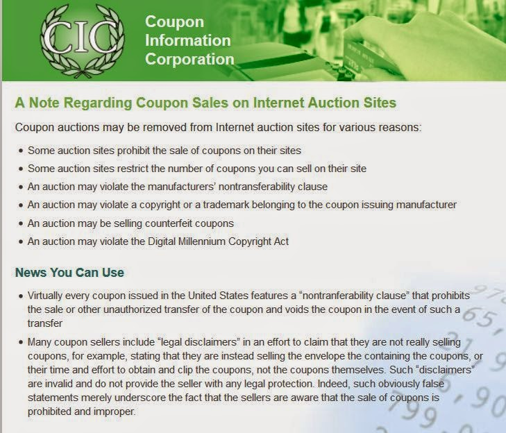 coupon corporation information