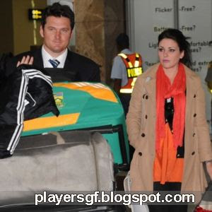 Graeme Smith and his wife Morgan Deane picture