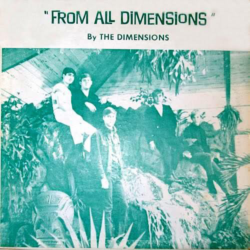 "The Dimensions ""From All Dimensions"" 1966 US Psych Garage Rock Private"
