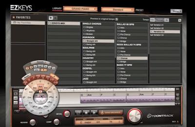 Ezkey grand piano plugin tambahan untuk FL