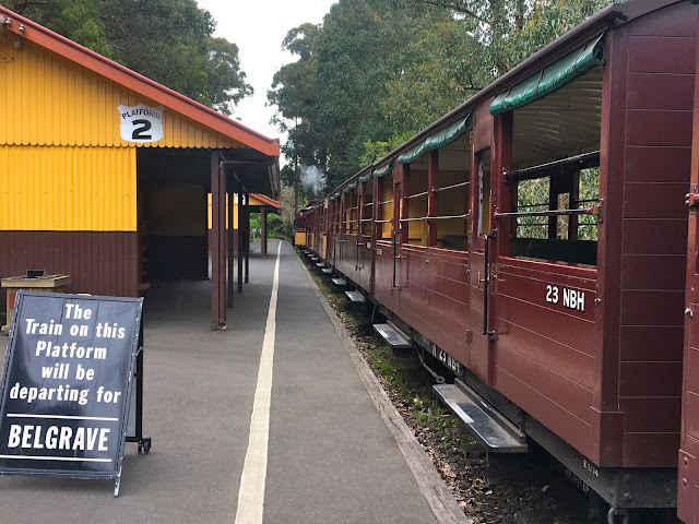 Steam and Cuisine Luncheon, Puffing Billy