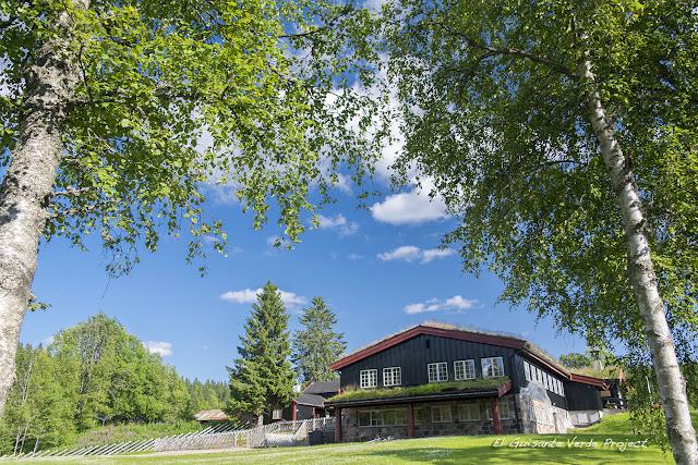 Chalet de Tryvannstua - Oslo por El Guisante Verde Project
