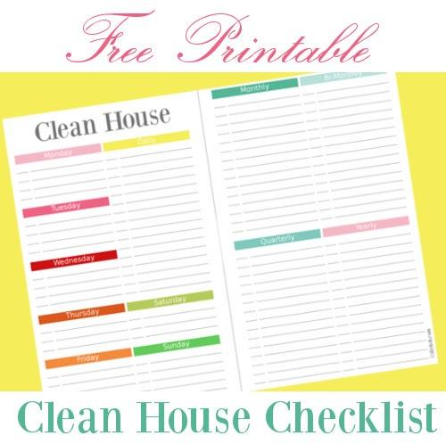 diy home sweet home clean house checklist free printable 5 5 x 8 5