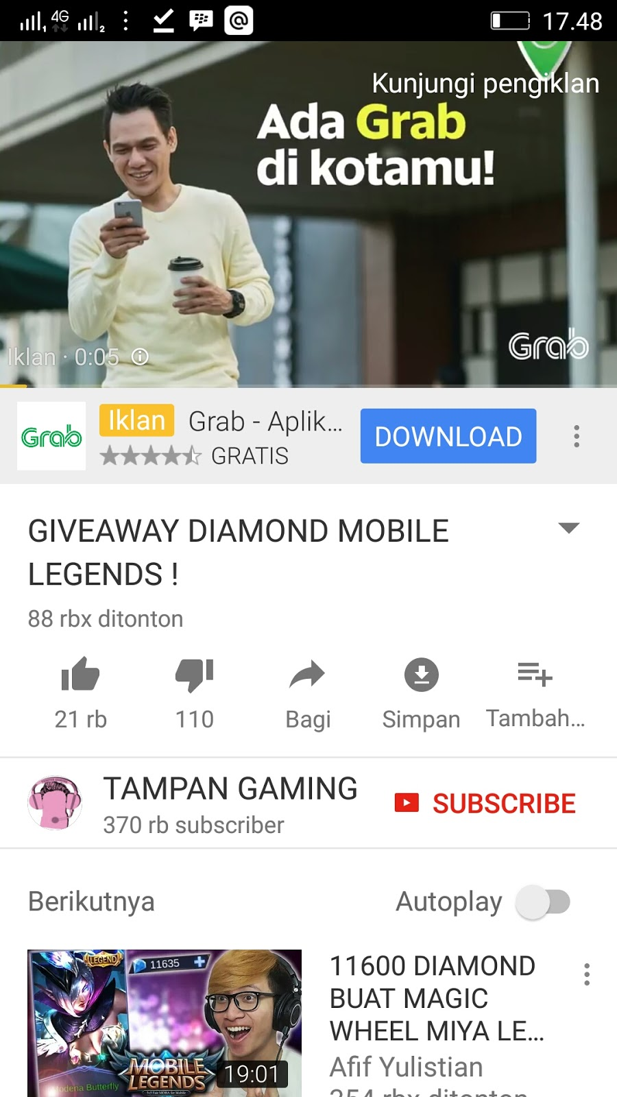 Mobile Legend Dituntut
