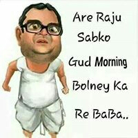Funny Good Morning Photo for Facebook