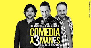 Comedia A 3 Manes