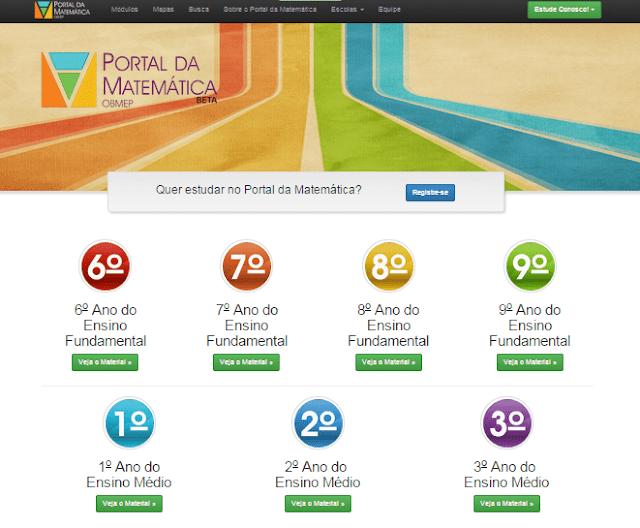 Portal da Matemática OBMEP
