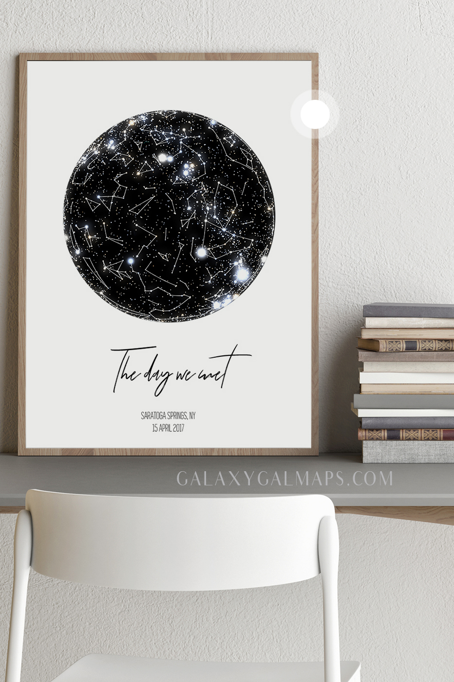 personalized star map where it all began wall art unique wedding gift engagement gift wall art vintage wedding decor gift for couples