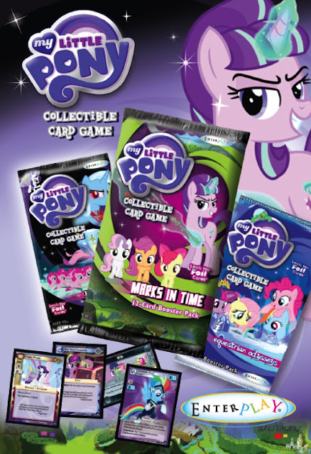 The 7th My Little Pony CCG Expansion Revealed - Marks in Time