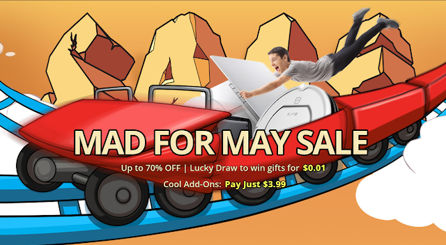 Mad for May Sale gearbest
