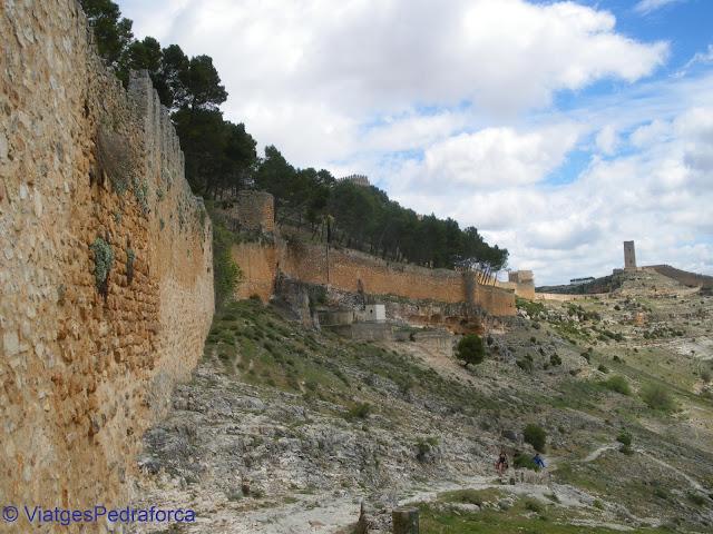 Muralla de Alarcón, Conca, Castilla-La Mancha, España, ciutats medievals emmurallades