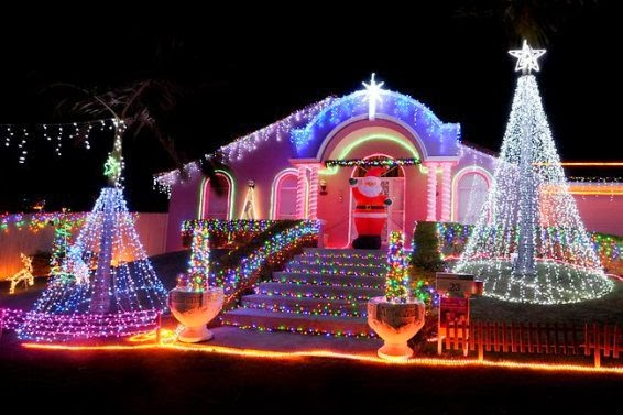 Christmas Setups.Amazing Christmas Lights The Best Pictures