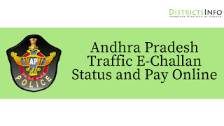 Andhra Pradesh Traffic E-Challan Status and Pay Online