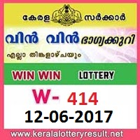 Win Win Lottery W-414 Results 12-6-2017