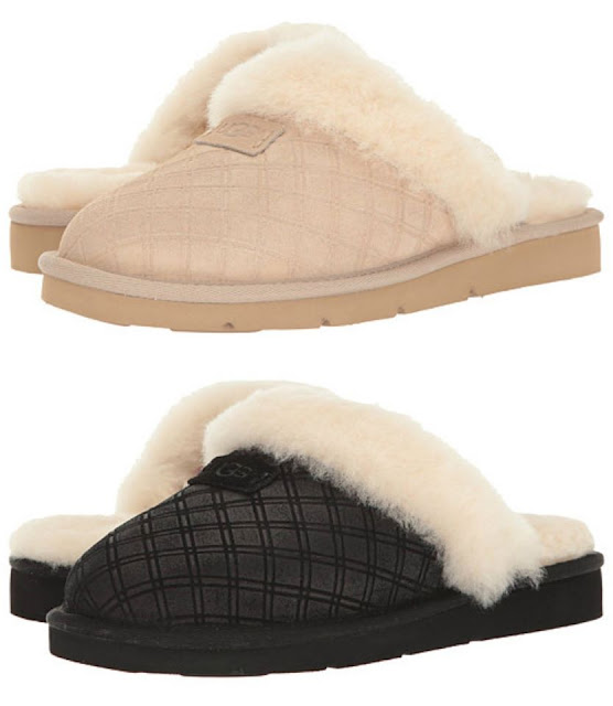 UGG Womens Cozy Double Diamond are on sale for only $53 (reg $110)