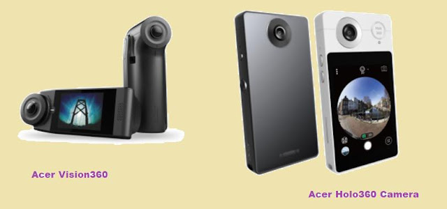 Acer Vision360 And Acer Holo360 Camera