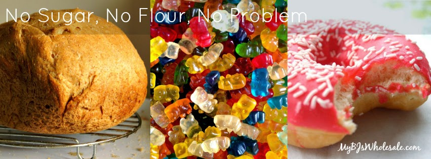 Take the No Sugar, No Flour Challenge