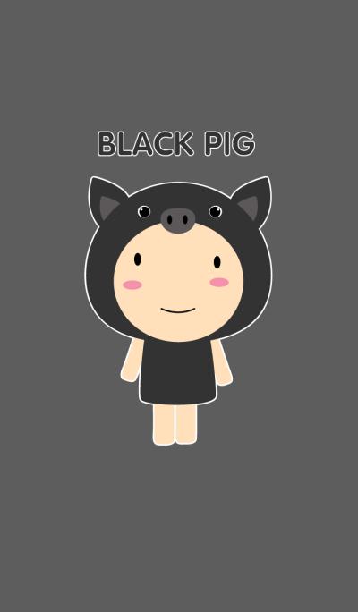 Boy Black Pig theme