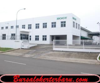 Lowongan Kerja di Bekasi : PT Hogy Indonesia - Operator Produksi