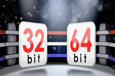 هل يمكن تحويل معالج حاسوبك من 32Bits إلى 64Bits أو العكس تابع الشرح