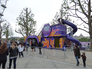 CADBURY OBEY YOUR MOUTH HOUSE IN SOUTH BANK LONDON