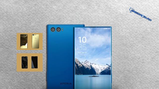 Imagini cu presupuse telefoane Sony Xperia cu ecrane cu margini extrem de înguste