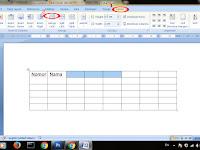 Cara Mudah Menggabungkan/Merge Tabel di Microsoft Word