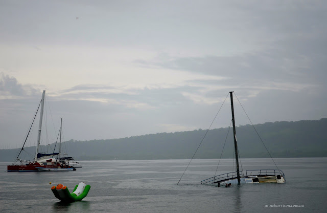 Port Vila in the Rain