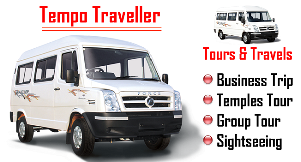 Luxury Tempo Traveller Hire service from Delhi to outstation Tour Packages