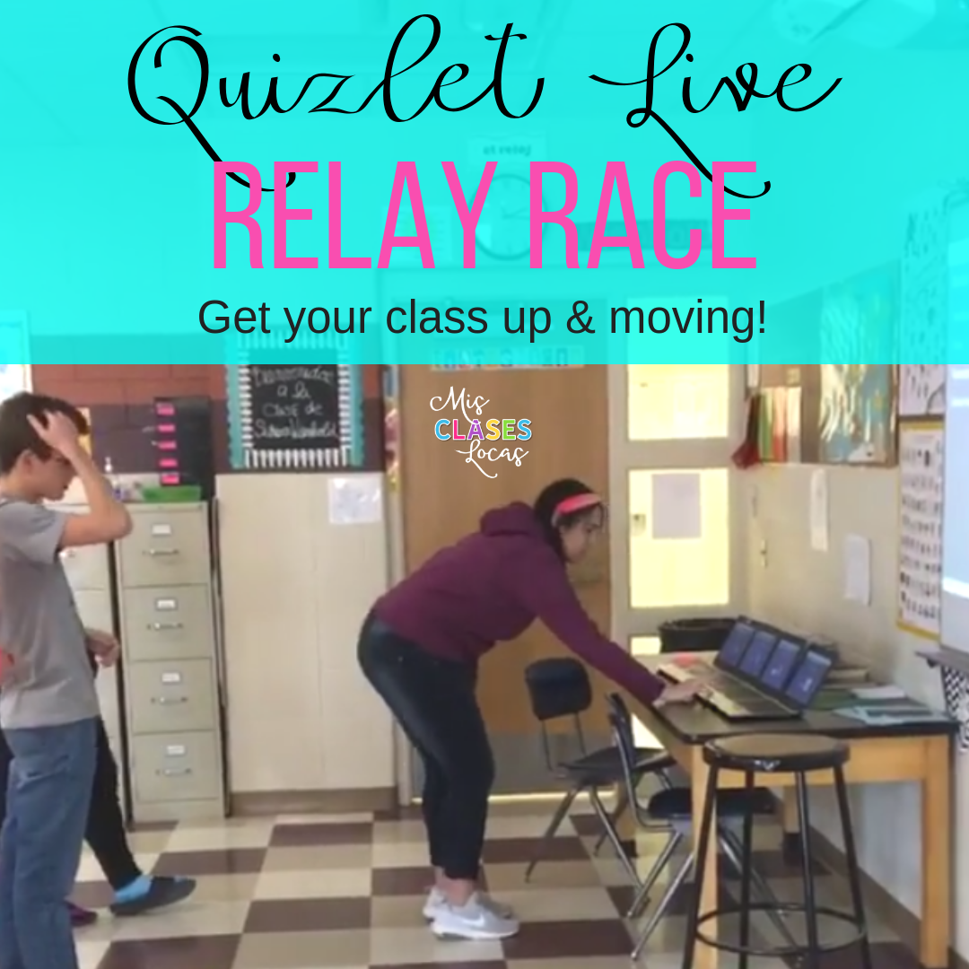 Quick Tip: Quizlet Live Relay Race - shared by Mis Clases Locas