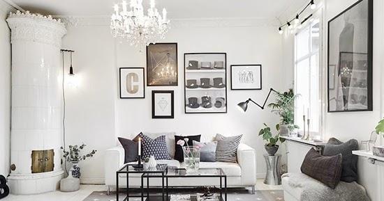 Ide inspiratif interior ruang keluarga bergaya scandinavia
